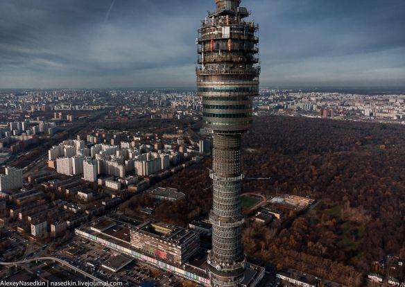 Останкинская башня, которую вы не видели