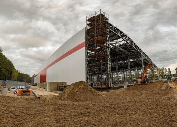 Строительство АО «Кронштадт» завода по производству беспилотных летательных…