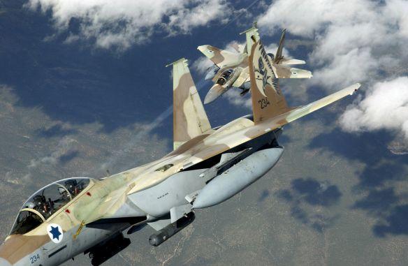 ВВС Израиля при атаках на Сирию прикрывается гражданскими самолетами