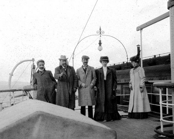 1900-е. Русские туристы на Сицилии. Часть 1