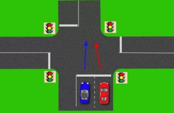 Разрулить дорожную ситуацию по проезду перекрестка...