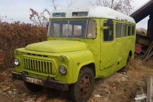 По цене металлолома. В Оренбурге нашелся редкий донбасский автобус ЕАРЗ 654