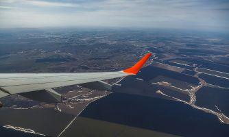 Полёт над Саратовом. Апрель 2017