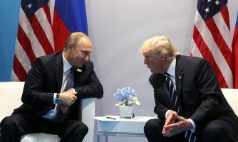 Тайная встреча Путина и Трампа. Нет, это не шутка