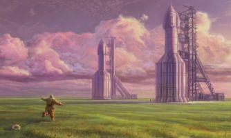 Космос в живописи. От Жюля Верна до современности