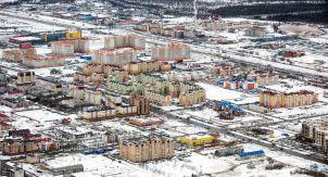 Новый Уренгой. Газовая столица России с вертолёта