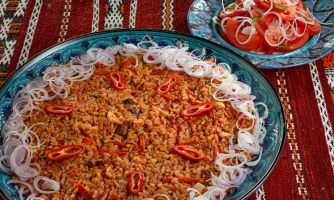 Шавля. Узбекская каша