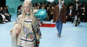 Показ Gucci. Феминистки-киборги и постгуманизм