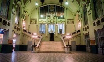 Витебский вокзал. Старейший в стране
