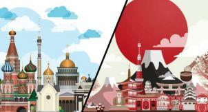 Ищем лучшие фотографии Японии и России