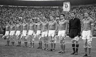 Футбол 1966 года. Лев Яшин и другие