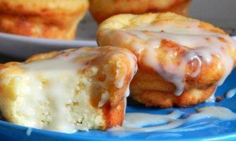 Запечённые сырники к лучшему завтраку