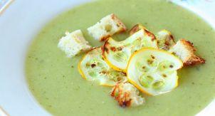 Кабачково-имбирный суп