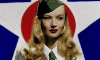 Вероника Лейк, её длинные волосы и Вторая мировая