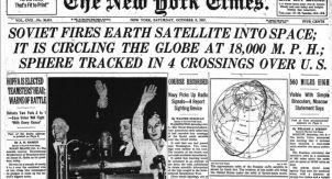 Как за 61 год изменилось восприятие космоса