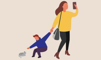 Родители с гаджетами — худшая ролевая модель