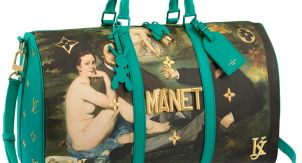 Великие шедевры на вашей сумке. Дорого и иронично?