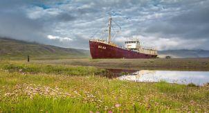 Исландский корабль-призрак