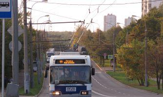 Московский троллейбус празднует юбилей