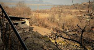 Линия фронта между Арменией и Азербайджаном