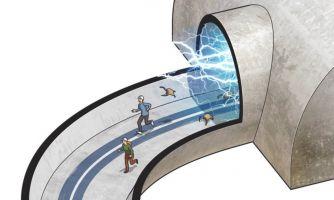 Случай на детекторе Большого адронного коллайдера