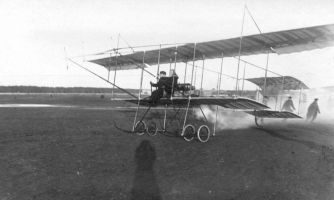 Первый полёт русского авиатора