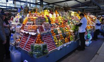 Гуляем по одному из лучших рынков Москвы