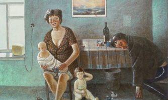 Страшный СССР на картинах Василия Колотева