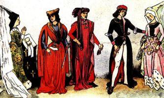 Средневековые женщины. Котта, сюрко и прочие прелести