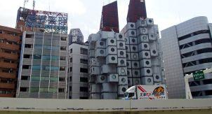 Японский метаболизм: капсульная башня «Накагин»