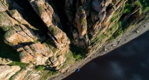 Ленские столбы — каменный лес Якутии