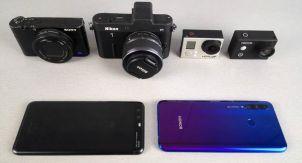 6 камер. Какая лучше снимает видео?