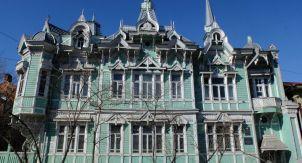 Томск. Крутая деревянная архитектура