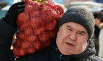 Путин из жареной картошки