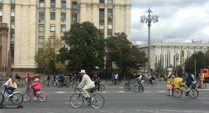 Велосипедам здесь не место?