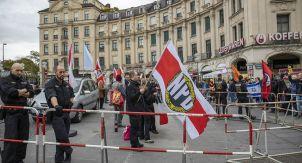 Нацистская демонстрация в Мюнхене