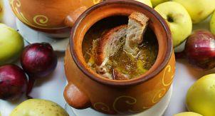 А-ля кальвадос под луковый суп