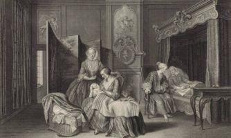 300 лет назад умирали от родов через одну?