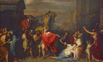 За что Гораций убил сестру