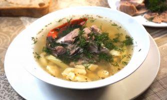 Примитивный, но чертовски вкусный суп