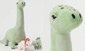 Динозавры на проводе. Что нового у H&M Home