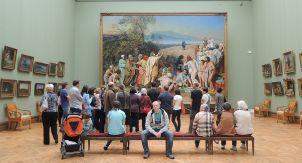 Сколько стоят картины в музеях
