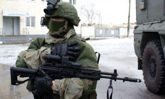Во что одет солдат российской армии