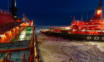 Встречи в Арктике. Как общаются атомные ледоколы