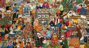 Азербайджан этнографический. Искусство и еда