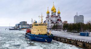 Архангельск с высоты. Гордость Русского Севера