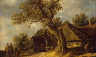 Деревья европейского пейзажа