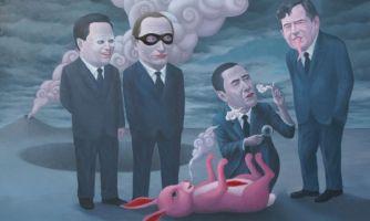 Политический сюр в картинах тайского художника