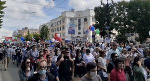 Хабаровчане до сих пор протестуют?