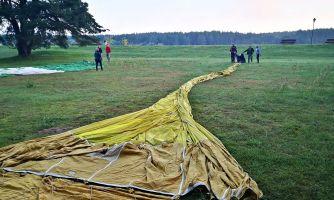 Как полёт на воздушном шаре не закончился катастрофой
